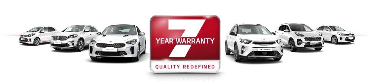 7 years manufacturer warranty