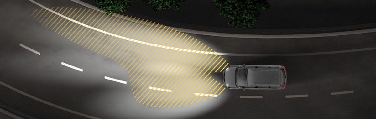Drive-assist: Adaptive headlights