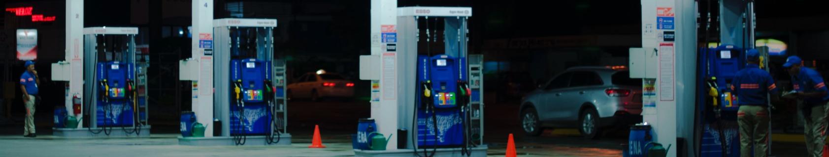 esso petrol pumps