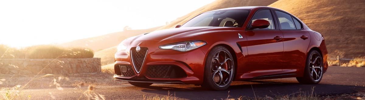 Alfa Romeo Giulia Quadrifoglio side view