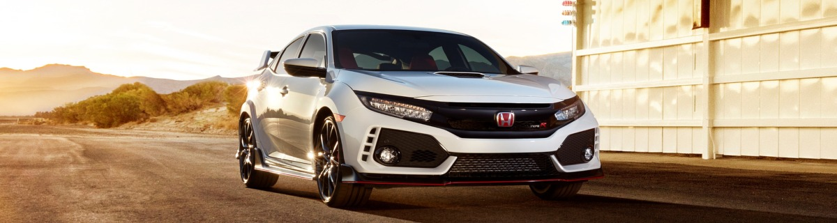 Honda Civic Type R front view