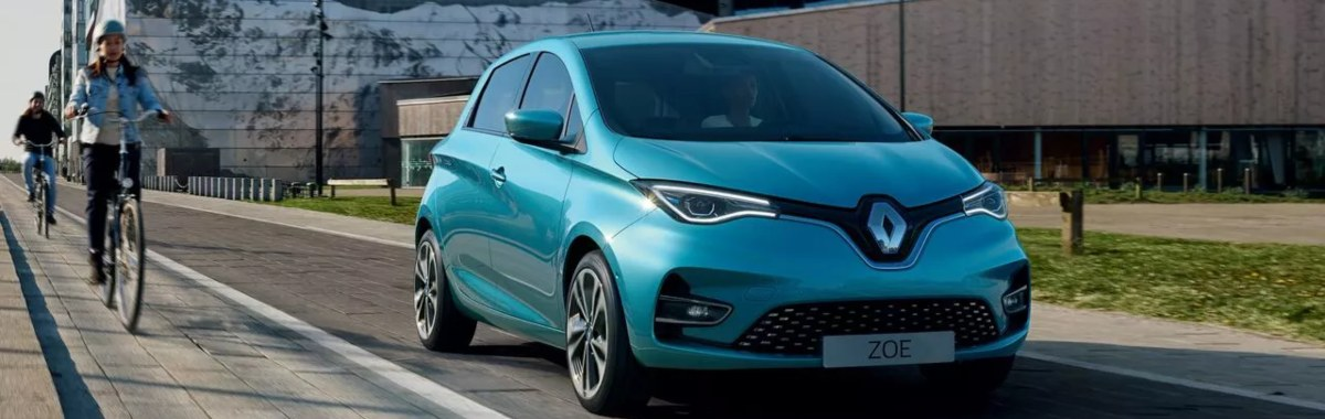 Renault Zoe front view