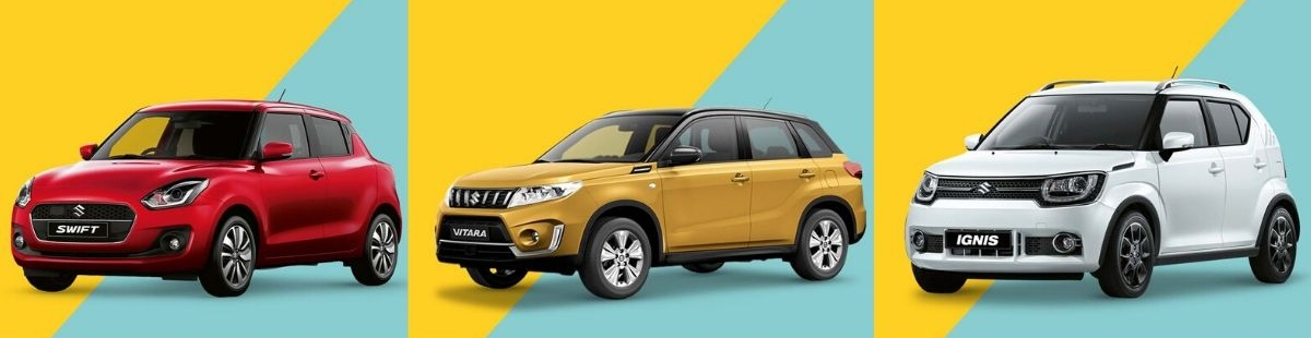 a selection of Suzuki cars available from Stoneacre Ackworth