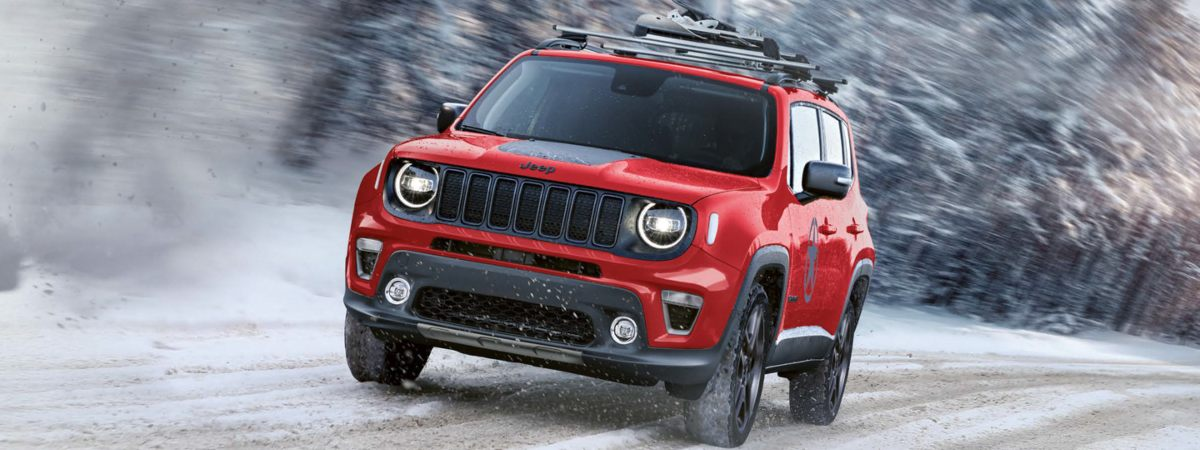Jeep Renegade 4xe off-road