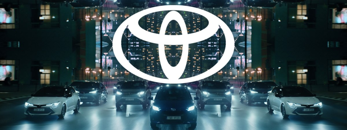 Toyota car range