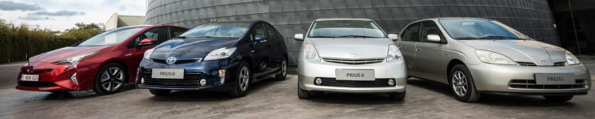 Toyota Prius model history