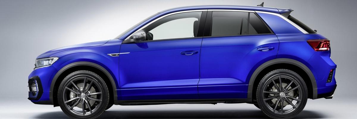 Royal Blue Volkswagen T-Roc SUV