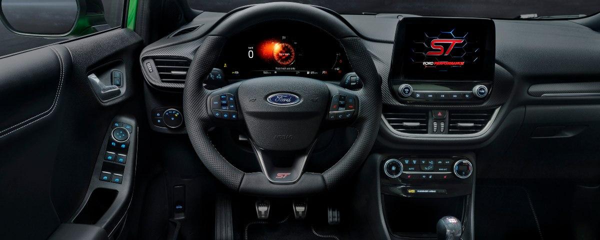 new Ford Puma ST dashboard