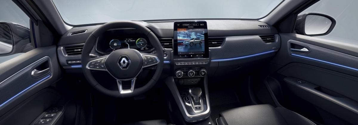 new Renault Arkana interior