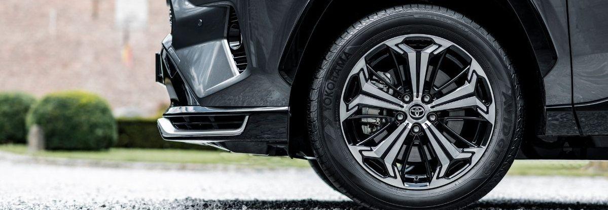 Toyota Rav4 wheel design