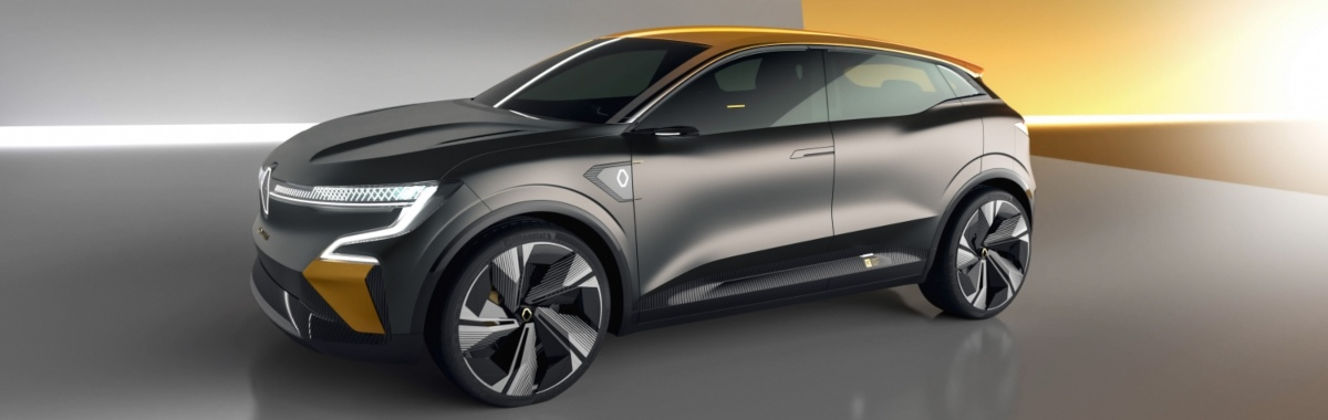 Side view of the concept car