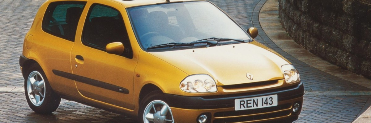 thirty years of Renault Clio - second generation model