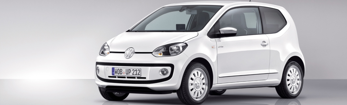 Used automatic cars with low road tax - Volkswagen UP!
