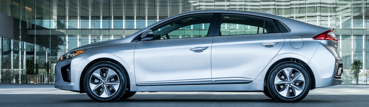 Used automatic cars with low road tax - Hyundai Ioniq