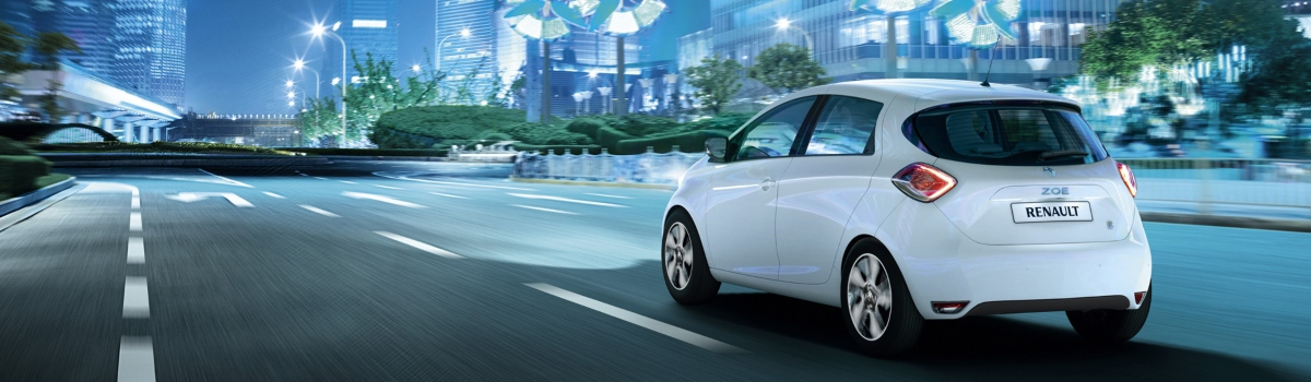 Used automatic cars with low road tax - Renault Zoe