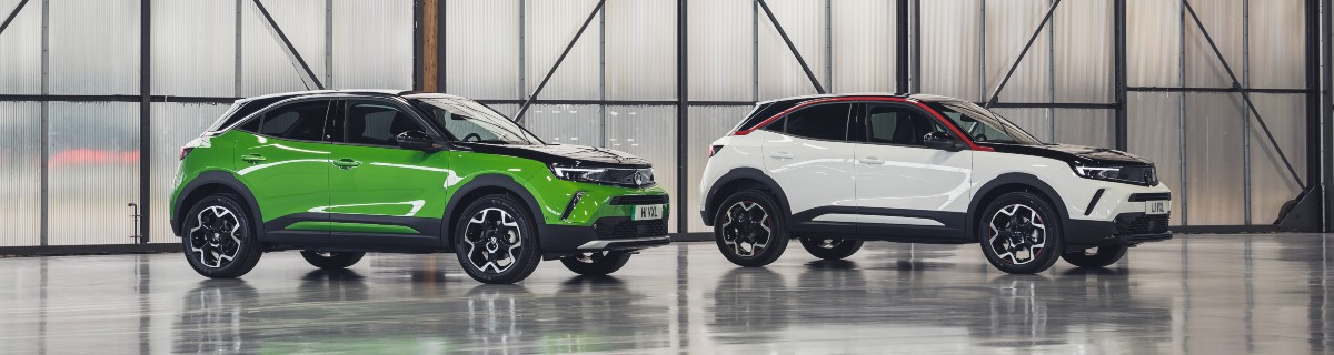 Image of new Vauxhall Mokka and Mokka-e
