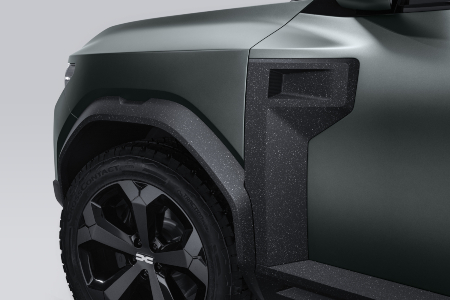 Dacia Bigtser detailing