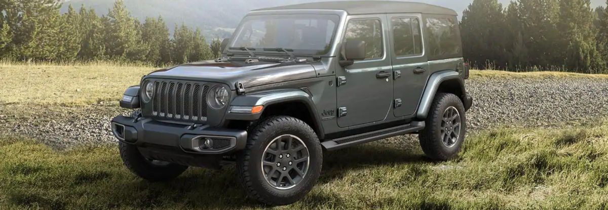 80th Anniversary Jeep Wrangler