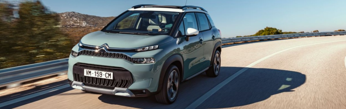 Citroen C3 Aircross front view