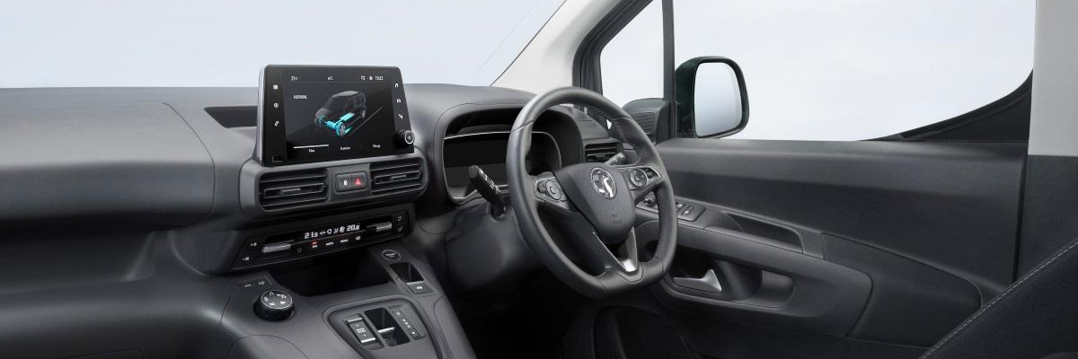Vauxhall Combo-e Life dashboard