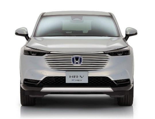 new Honda HR-V front view
