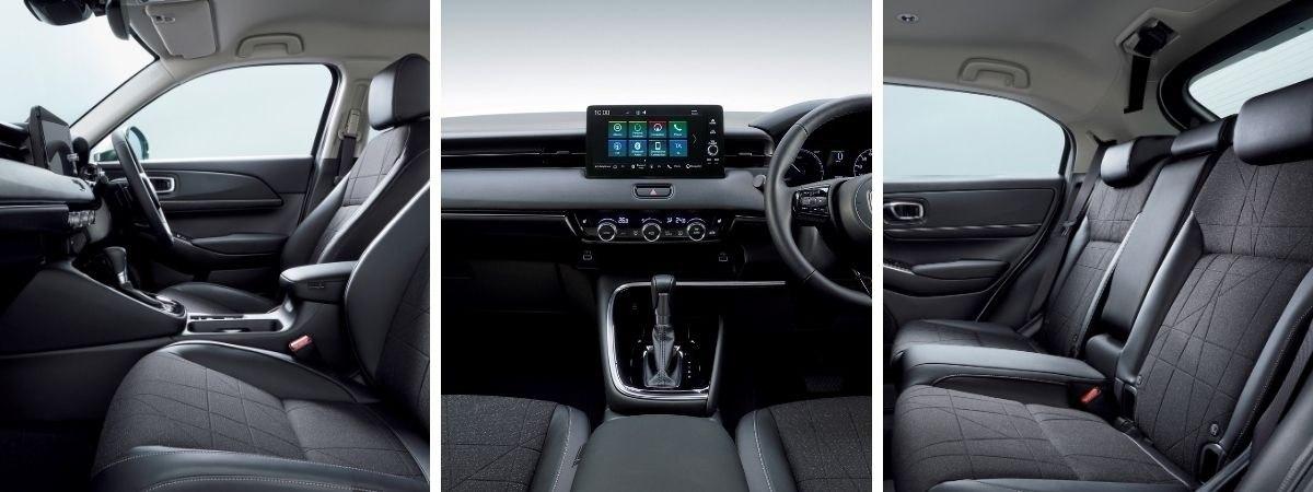 Honda HR-V interior views