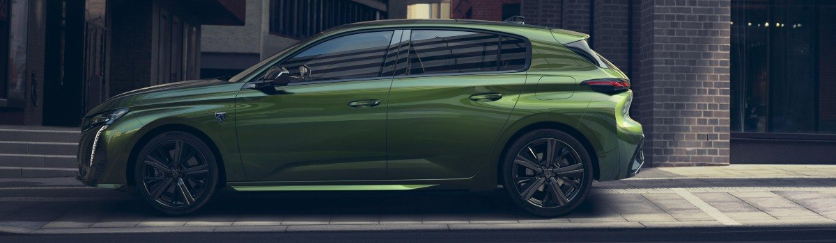 new Peugeot 308 side view