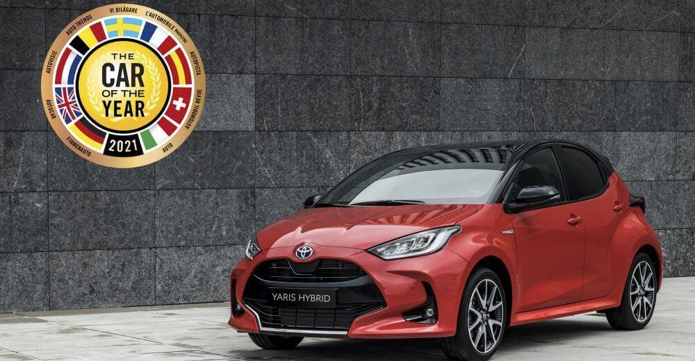 award-wining Toyota Yaris