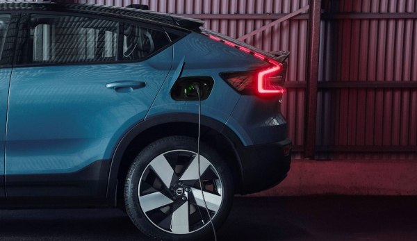Volvo C40 on charge