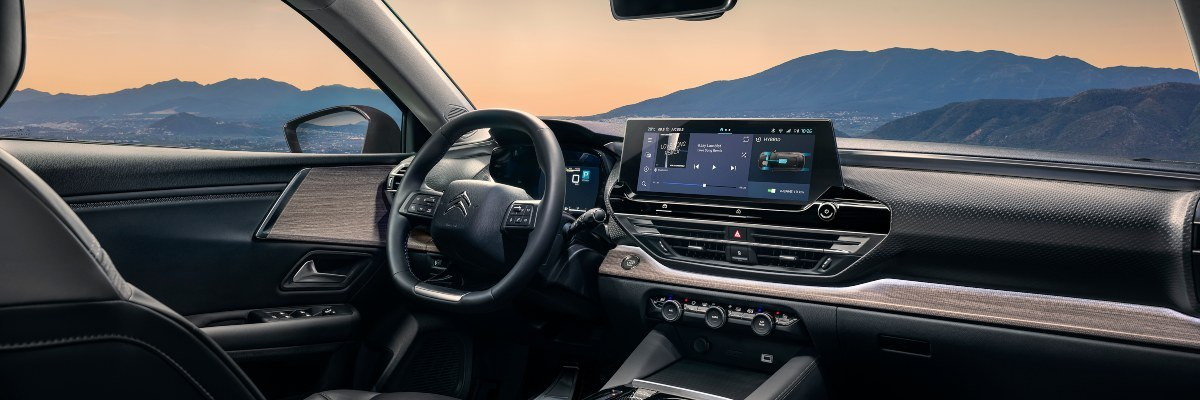 Citroen C5 X interior