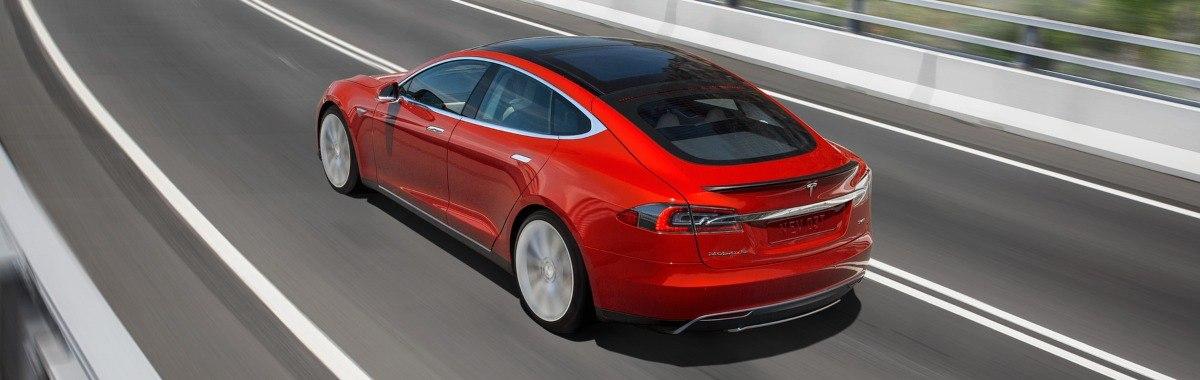 hands-free driving Tesla Model S