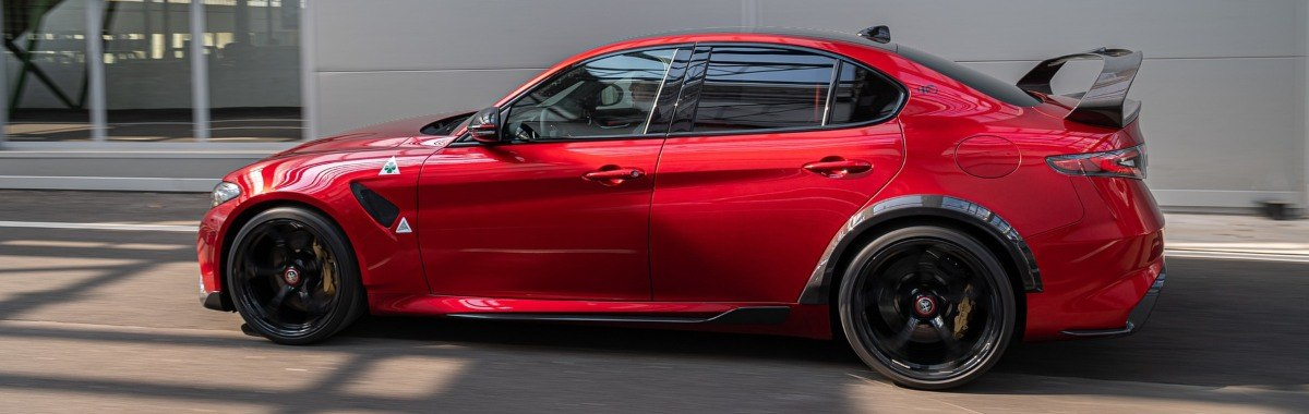 Giulia GTA side view