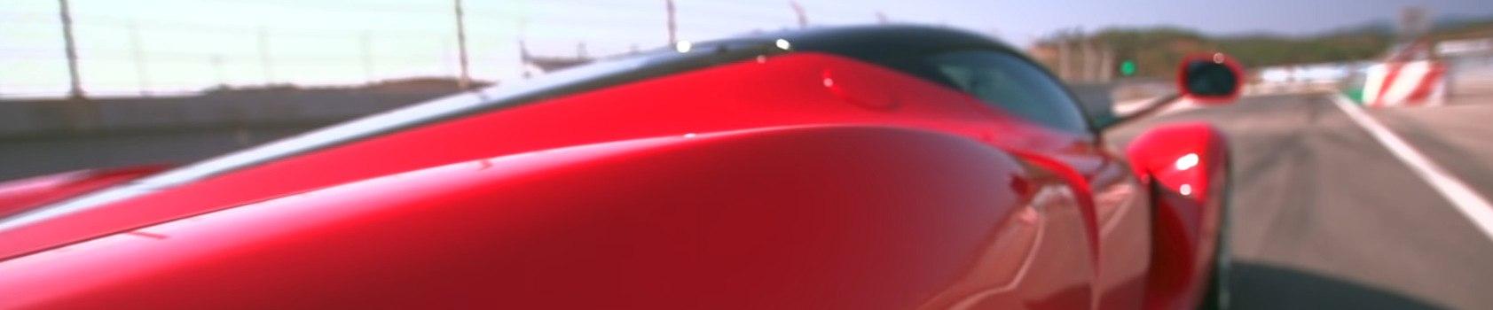 Car Youtbe channels - red Ferrari