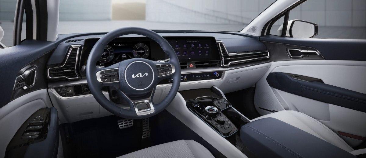 New Kia Sportage interior