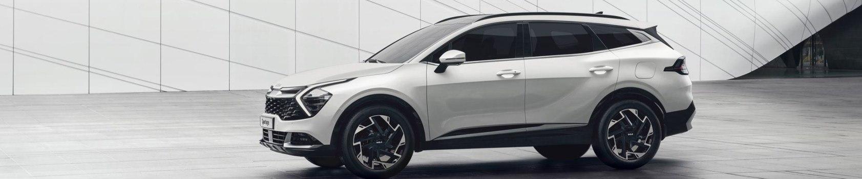 New Kia Sportage white
