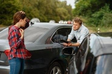 scene of car accident